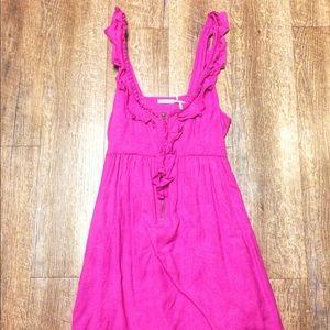 Kimchi blue purple jumper dress urban outfitters s